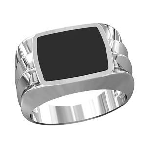 Кольцо мужское серебряное Росомаха 700270