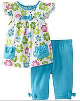 Летние костюмы и комплекты наборы для девочек