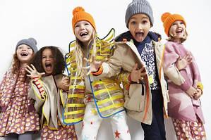 Дитячі куртки, куртки, плащі, пальто, жилети демісезонні