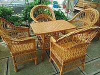 """4 кресла """"Обычных"""" + стол"""