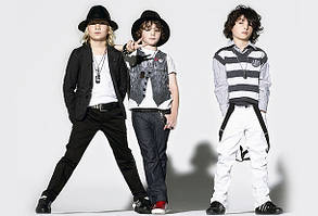 Котонові штани для хлопчиків