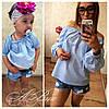 Детская модная рубашка качественного кроя 148 ЮК