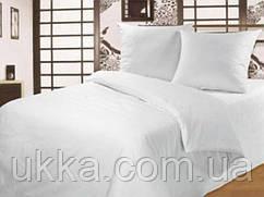 Полуторное постельное белье ранфорс Вилюта Белое