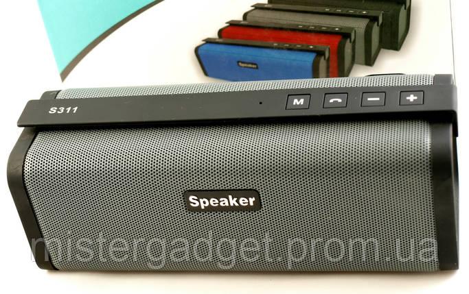 Колонка S311 Bluetooth MicroSD USB СуперБасы S-311, фото 2