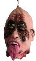 Голова с языком, декор на Хэллоуин