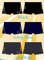 Мужские боксеры для плавания (черный M)