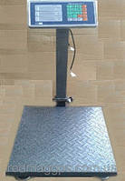 Весы торговые электронные 1000 кг с металлической головой, площадка 130 х 80 Усиленные