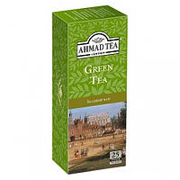 Чай Ahmad tea Ахмад Green Зеленый 25шт*2г, 25 пакетиков