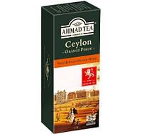 Чай Ahmad tea Ахмад Ceylon Orange Pekoe Цейлон Оранж Пеко черный, в пакетиках 25шт*2г