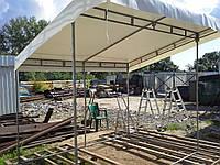 Разборные палатки с тентом