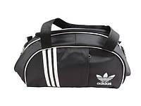 Стильная спортивная сумка ADIDAS LS-530 (черно-белый), фото 1
