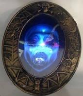 Страшное зеркало, декорация на Хэллоуин