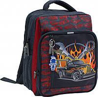 """Рюкзак школьный ортопедический Bagland """"Car fire'"""
