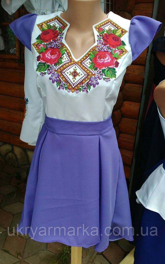 e007f6f2b72bd4 Машинна вишивка плаття, Грація