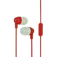 Наушники HF MP3 Sony EX-15 Red with mic
