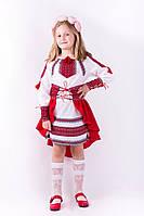 Интересный костюм для девочки с вышивкой, фото 1