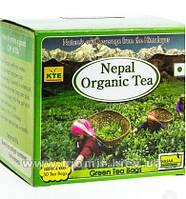 Органический зеленый чай в пакетиках Nepal Organic Green Tea Bags (25 пак.)