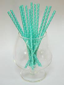 Трубочки для коктейля бумажные