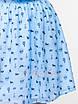 Летнее голубое Платье котики, фото 3