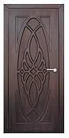 Межкомнатная двери модель 1 ПГ тиковое дерево