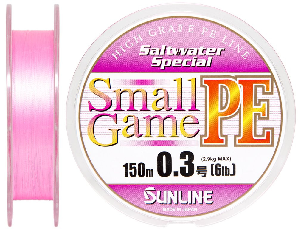 Шнур Sunline SWS Small Game PE 150м 0.3 6LB 2.9кг