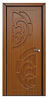 Межкомнатная двери модель 2 ПГ золотой дуб