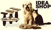 Щетка для груминга крупных собак Furminator deShedding tool Large Фурминатор Fubnimroat лезвие 10,16 см, фото 4