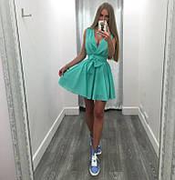Платье женское короткое шифоновое летнее P2928