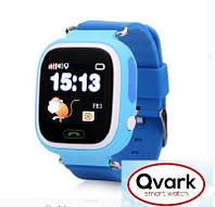 Детские часы Smart watch Qvark 100 c GPS трекером Blue