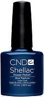 НОВИНКА! CND Shellac Blue Rapture, цвет: сине-голубой эмалевый