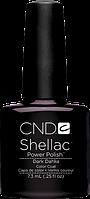 НОВИНКА! CND Shellac Dark Dahlia, цвет: темно-шоколадного баклажана, эмалевый