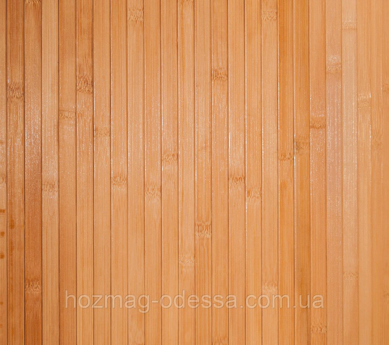 Бамбуковые обои темные 12 мм, ширина 150см.