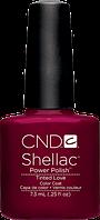 НОВИНКА! CND Shellac Tinted Love, цвет: бордово-вишнево-малиновый, эмалевый