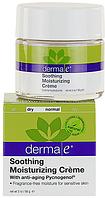 Антивозрастной увлажняющий крем с пикногенолом для чувствительной кожи - Soothing Moisturizing Creme, 56 г