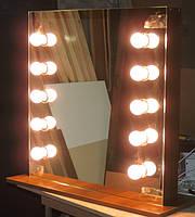 Зеркало с подсветкой гримерное, или для нанесения макияжа