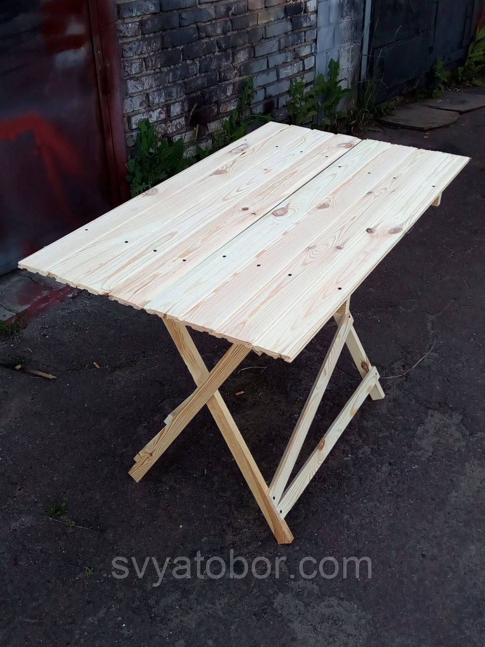 Стол раскладной для торговли или пикника 70х110 см «Эконом Прямоугольный»