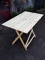 Стол раскладной для торговли или пикника 70х130 см туристический, фото 1