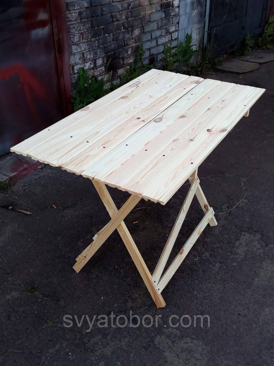 Стол раскладной для торговли или пикника 70х140 см «Эконом Прямоугольный»