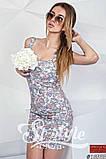 Летнее короткое платье на молнии , фото 2