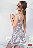 Летнее короткое платье на молнии , фото 4