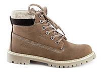 Женские ботинки Palet бежевые