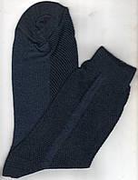 Носки мужские х/б однотонные с сеткой в связках Классик, 33 размер, джинс, 1068
