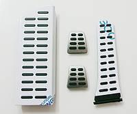 Хром накладки на педали для elantra MD (ручная КП), фото 1