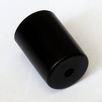Сталева гільза для патрона Е-27 (чорна), фото 1