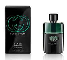 Мужская оригинальная туалетная вода Gucci GUILTY Black Men 50 ml NNR ORGAP /05-33