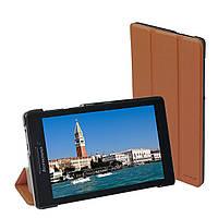 Чехол-книжка Grand-X для Lenovo Tab 2 A7-20 Brown (LTC - LT2A720BR)