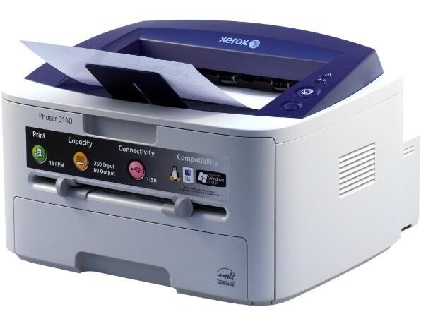 Заправка картриджа и прошивка для Xerox Phaser 3140