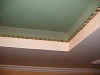 Натяжные потолки с декоративным шнуром., фото 1
