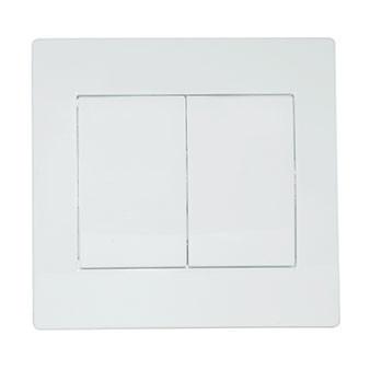 Выключатель SVEN Home SE-105 проходной двойной скрытого типа белый UAH