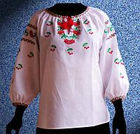 Блузки, сорочки набивные и вышитые